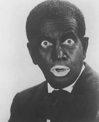 Al Jolson in black face - not Okay