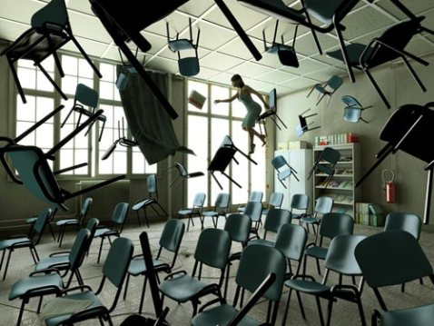 We try to shake up the normal classroom style