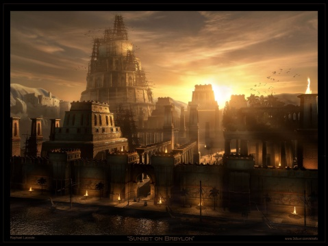 Seems like a pretty city.  Babylon circa way back
