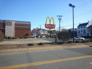 Orange McDonalds