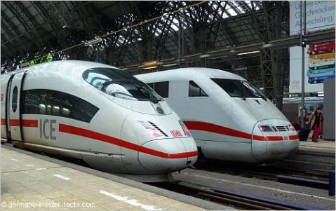 Some of the worlds better trains, in one of the best served countries in the world, Germany