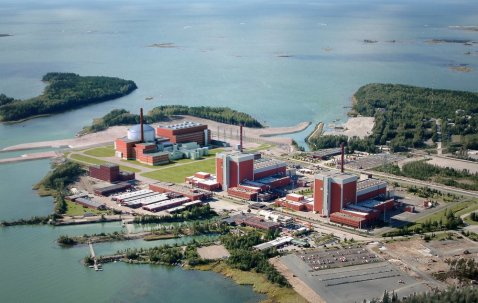 If it is ever finished, the far left reactor is what he third Finnish reactor will look like