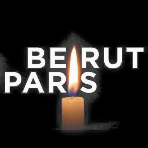 beirut and paris candle