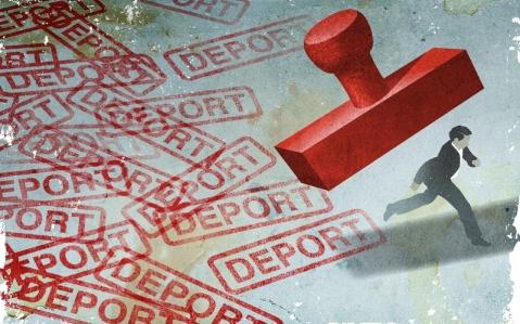 deport stamp