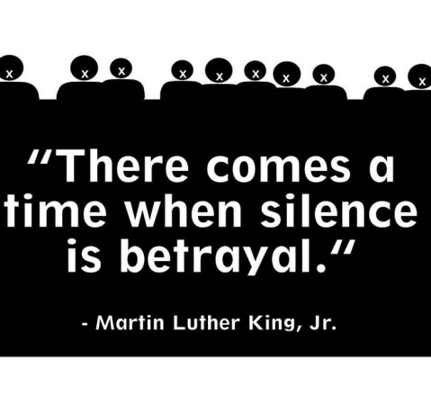 MLK silence is betrayal