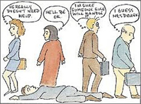 no intervention cartoon