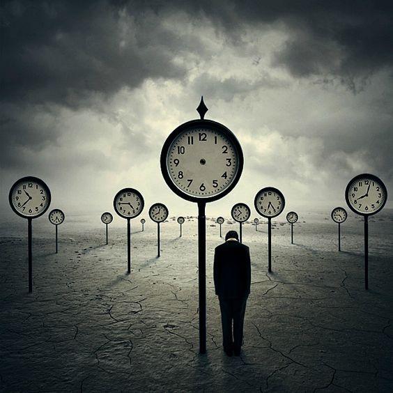 clocks surreal
