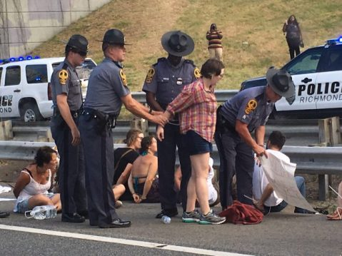 i-95 blockade action