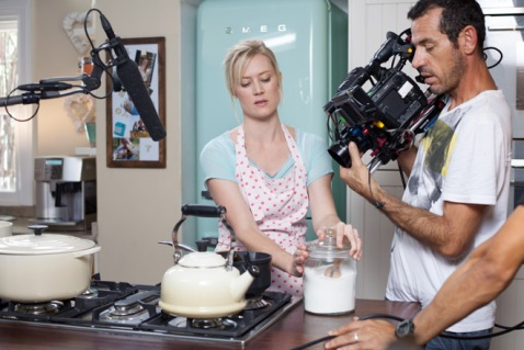 cooks being filmed