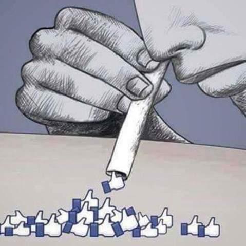 facebook snort