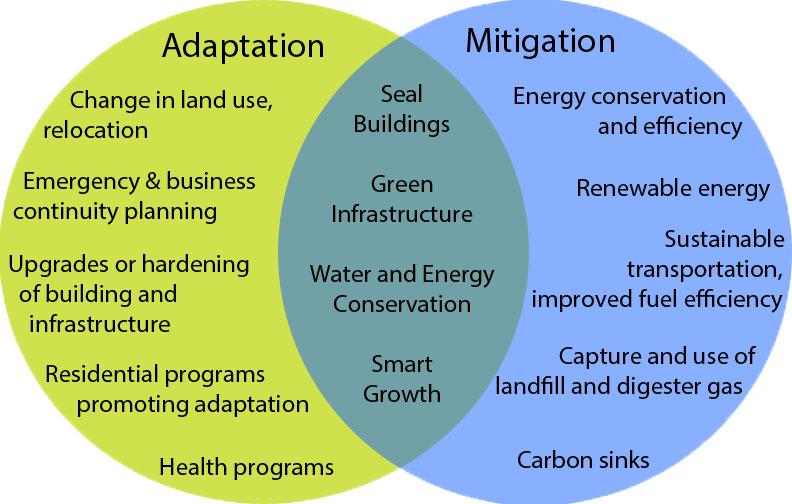 climate disruption adaption and mitigation