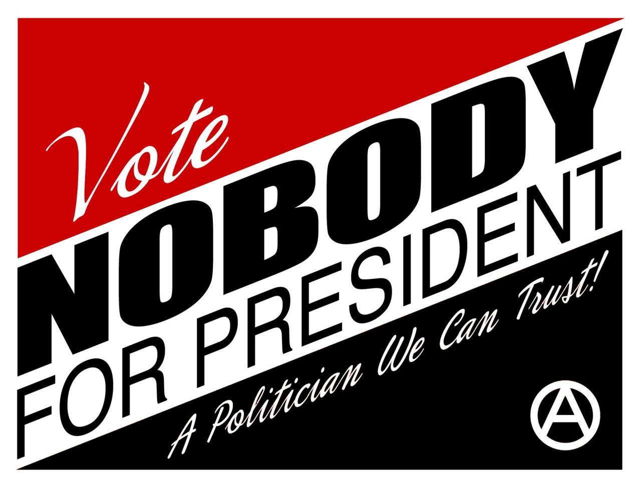 vote nobody