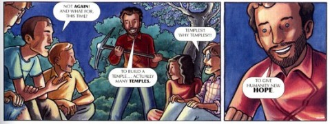 damanhur cartoon build temples
