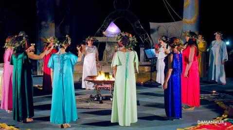 damanhur ritual
