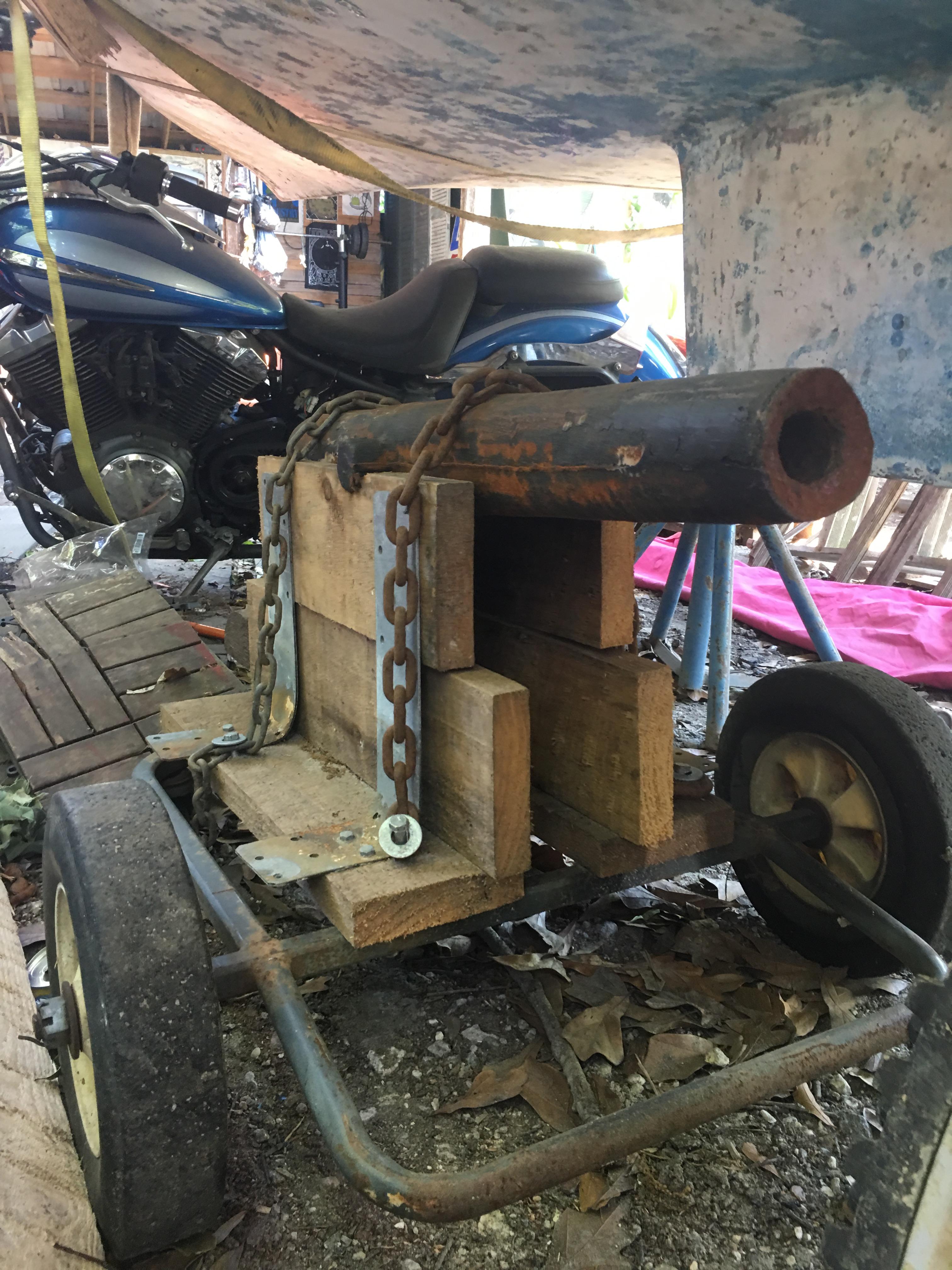 gargoyle cannon front