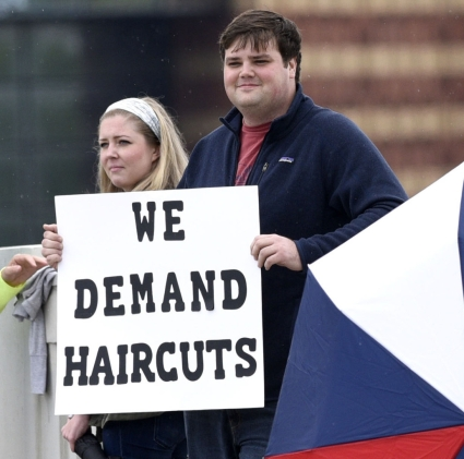 we demand haircuts